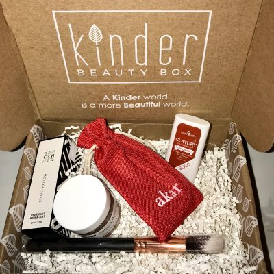 Kinder Beauty Subscription Box Review